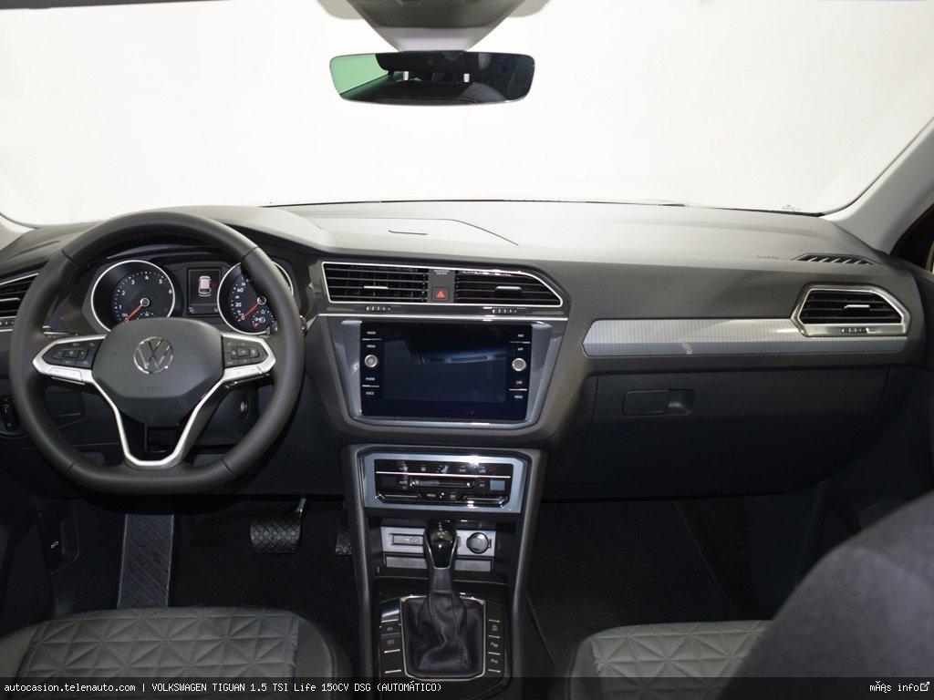 Volkswagen Tiguan 1.5 TSI Life 150CV DSG (AUTOMÁTICO) Gasolina kilometro 0 de segunda mano 6