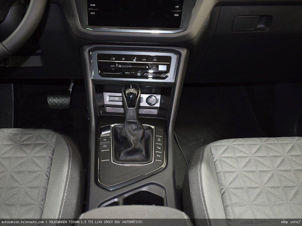 Volkswagen Tiguan 1.5 TSI Life 150CV DSG (AUTOMÁTICO) Gasolina kilometro 0 de segunda mano 8