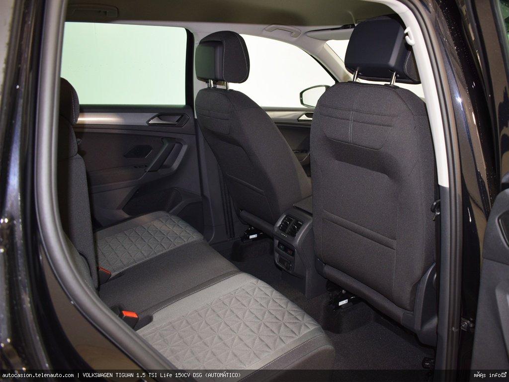 Volkswagen Tiguan 1.5 TSI Life 150CV DSG (AUTOMÁTICO) Gasolina kilometro 0 de segunda mano 9