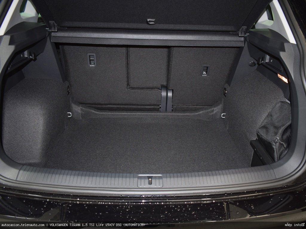 Volkswagen Tiguan 1.5 TSI Life 150CV DSG (AUTOMÁTICO) Gasolina kilometro 0 de segunda mano 10