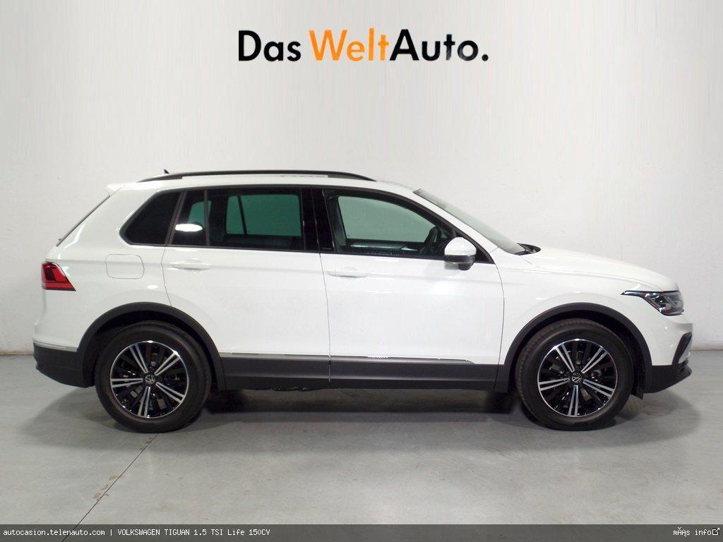 Volkswagen Tiguan 1.5 TSI Life 150CV Gasolina kilometro 0 de segunda mano 2