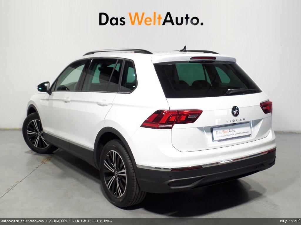Volkswagen Tiguan 1.5 TSI Life 150CV Gasolina kilometro 0 de segunda mano 3