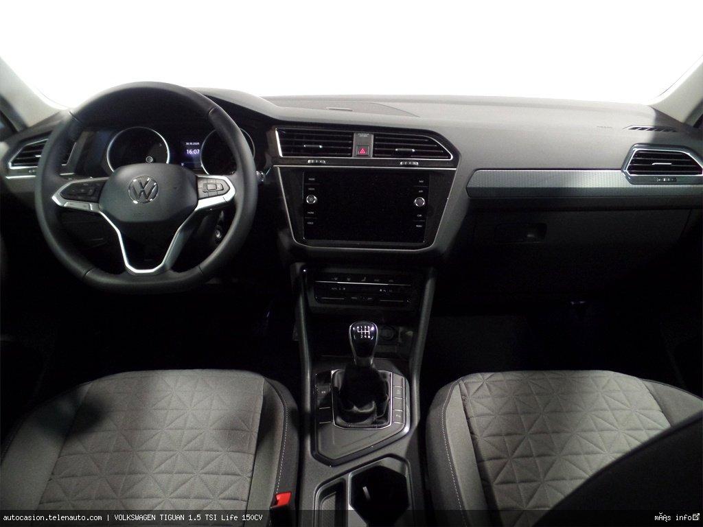 Volkswagen Tiguan 1.5 TSI Life 150CV Gasolina kilometro 0 de segunda mano 5