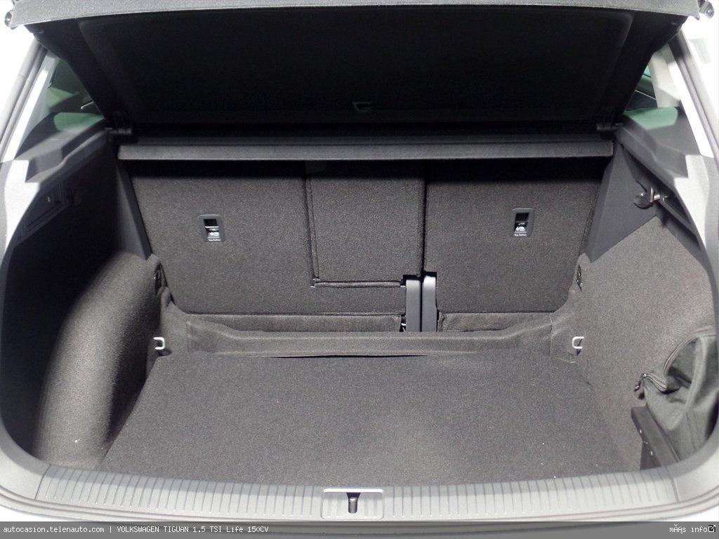 Volkswagen Tiguan 1.5 TSI Life 150CV Gasolina kilometro 0 de segunda mano 8