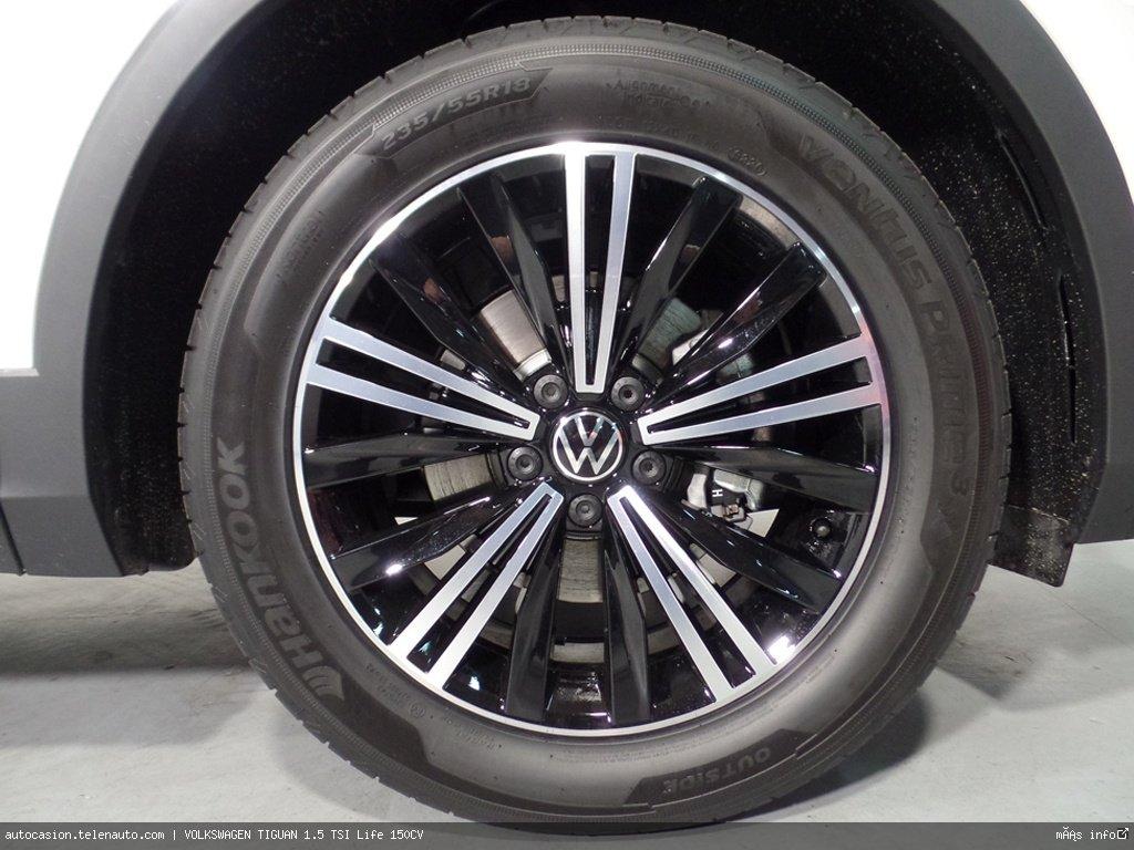 Volkswagen Tiguan 1.5 TSI Life 150CV Gasolina kilometro 0 de segunda mano 9