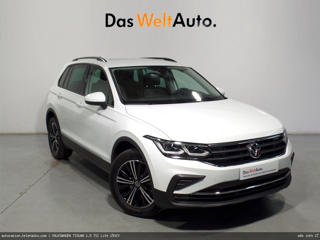 Volkswagen Tiguan 1.5 TSI Life 150CV Gasolina kilometro 0 de segunda mano 1