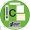 distintivo medioambiente DGT: C
